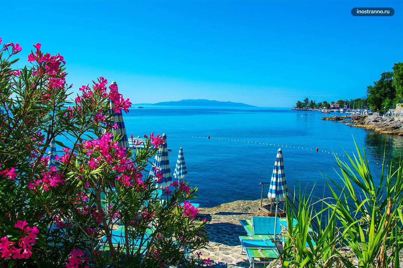 Лучший хорватский курорт Опатия