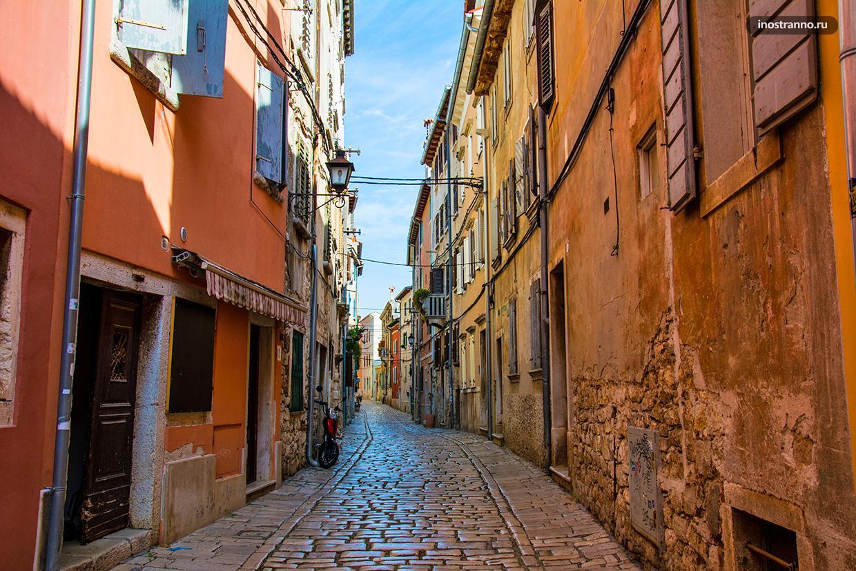 Уютная улочка в Хорватии