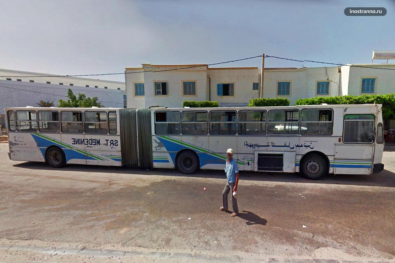 Автобус в Джербе
