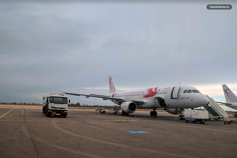 Маршрутная сеть аэропорта Джерба