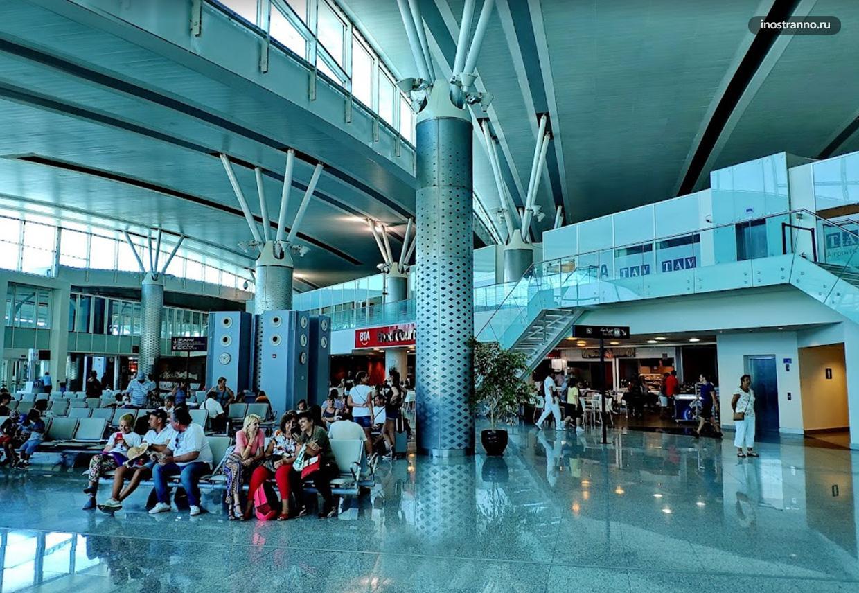 Услуги в Международном аэропорту Энфида-Хаммамет в Тунисе и отзыв