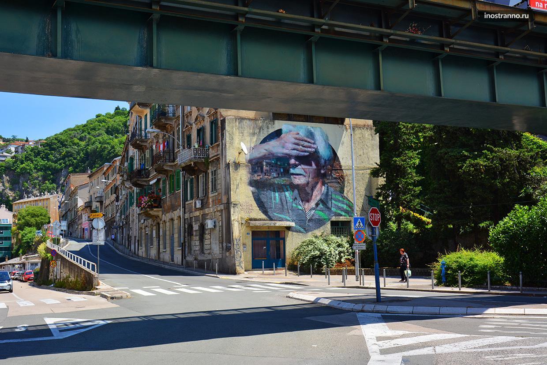 Граффити в Риеке Explorare Necesse Est