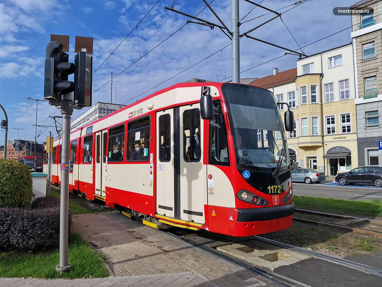 Трамваи в Гданьске