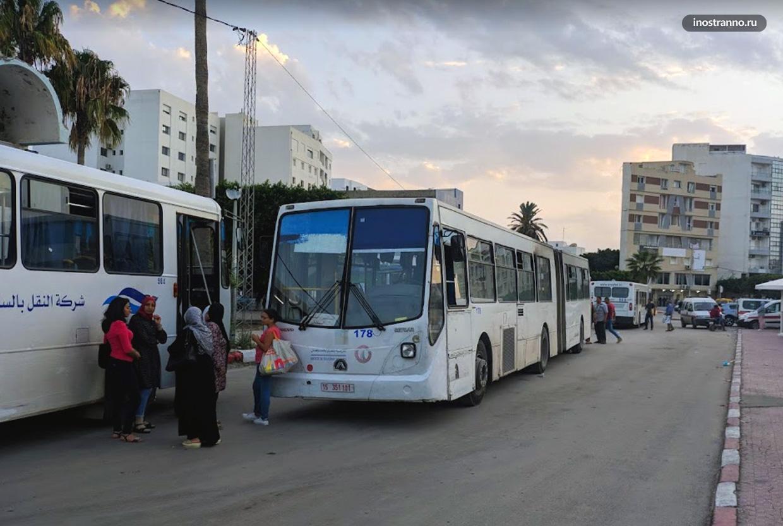 Автобусы в Монастире