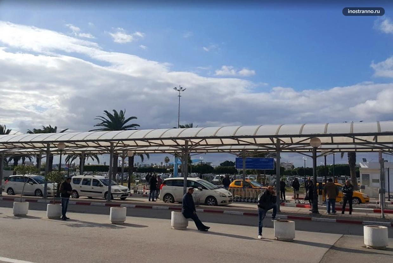 Заказать трансфер на такси в Тунисе