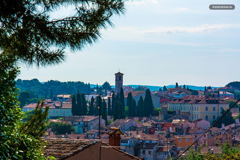 Тосканский пейзаж в Истрии