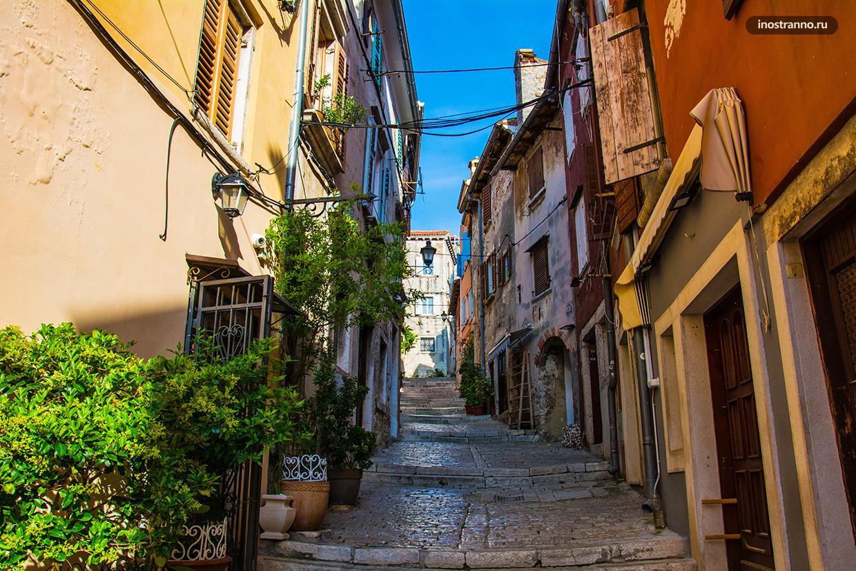 Пеший маршрут по городу Ровинь в Истрии