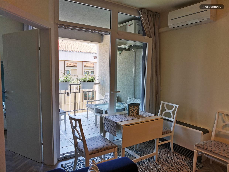 Аренда апартамента в хорватском городе Риека