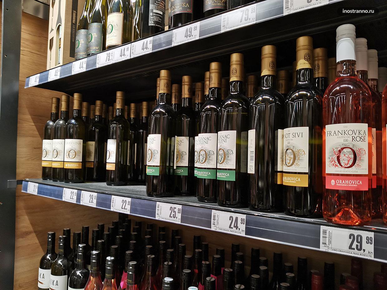 Лучшее хорватское вино в супермаркете