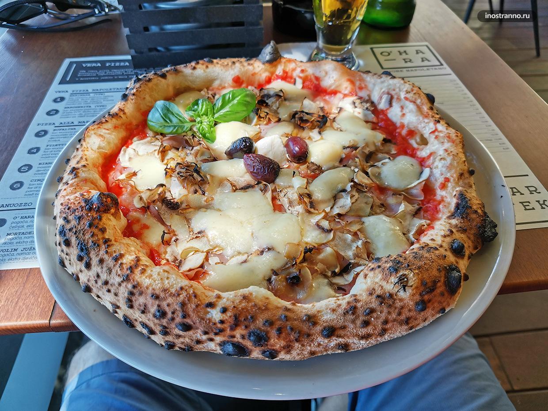 Лучшая пицца в Хорватии