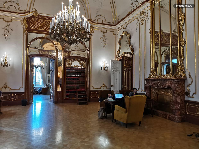 Самая большая библиотека в Будапеште