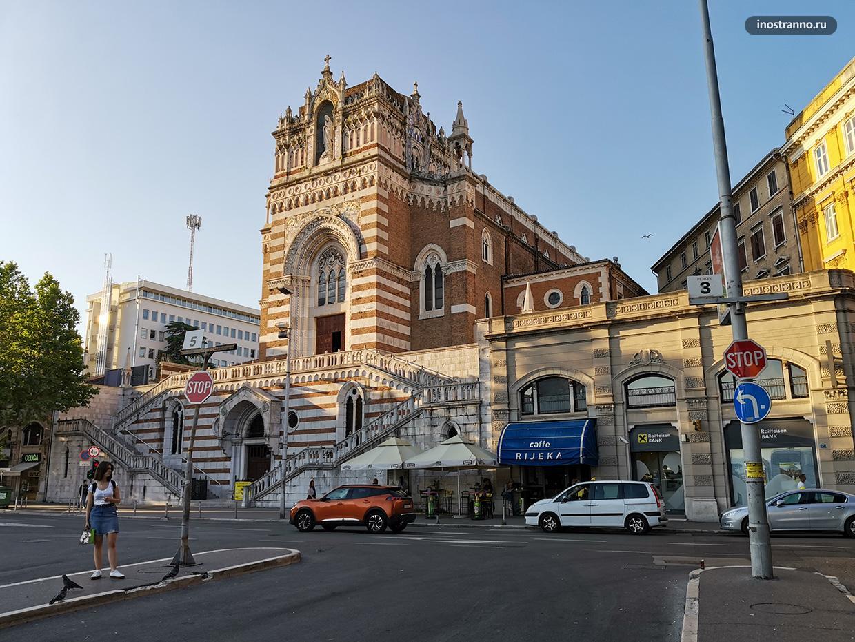 Капуцинская церковь в Риеке