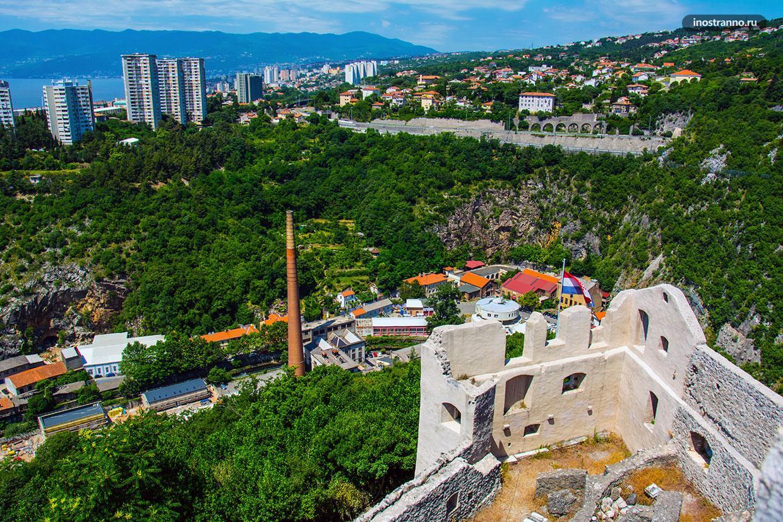 Зеленый хорватский город