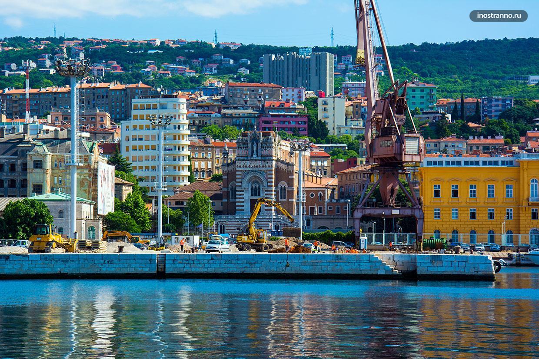 Город в северной Хорватии