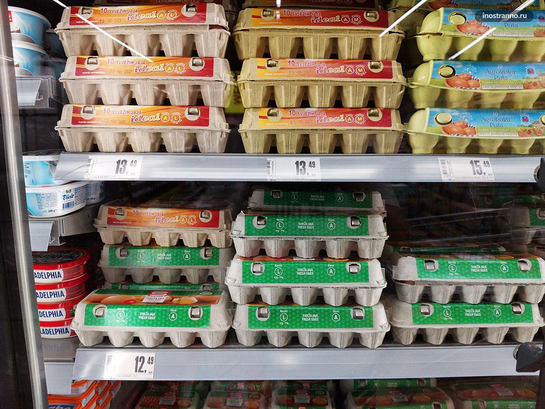 Стоимость продуктов в Хорватии