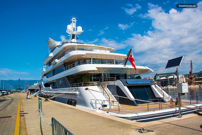 Яхта Royal Romance в Хорватии