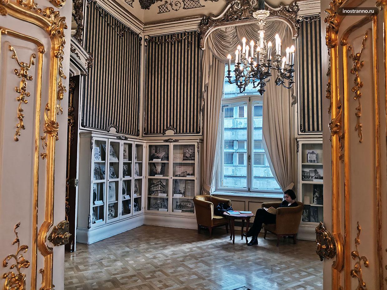 Тайные места Будапешта, городская библиотека