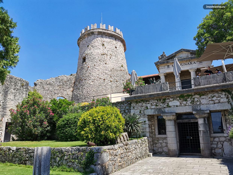 История крепости Трсат